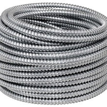 3-1/2 Inch x 25 Foot, Low Carbon Steel, Reduced Wall, Flexible Conduit (Length: 1FT ) - Dalf-Point