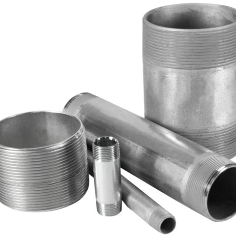 1-1/2 Inch x 8 Inch, Steel, Rigid Conduit Nipple - Dalf-Point