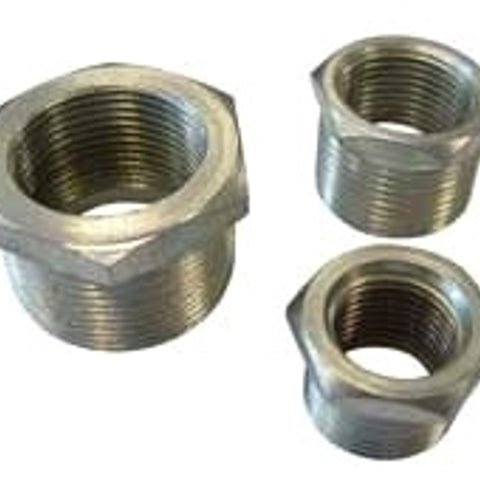 3 Inch x 2-1/2 Inch, Feraloy Iron Alloy, Threaded, Conduit Reducer - Dalf-Point