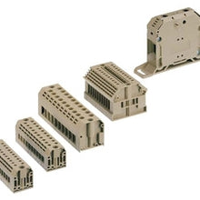 28 to 10 AWG, Single Tier 1-Circuit, Feed-Through Terminal Block - Dalf-Point