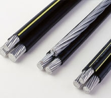6 AWG, 4-Conductor, ACSR, Quadruplex, Service Drop Cable (Length: 100FT ) - Dalf-Point