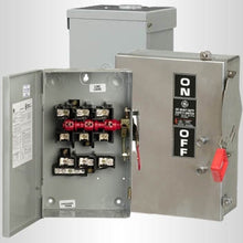 240/480/600 VAC, 30 Amp, 3P, NEMA 1, Safety Switch - Dalf-Point