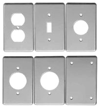 1-Gang, 1-Toggle Switch, Steel, Flat, Utility Box Cover - Dalf-Point