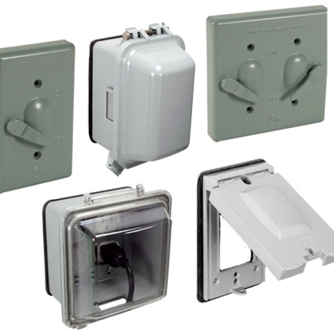 Weatherproof Electrical Outlet Box Cover Outdoor