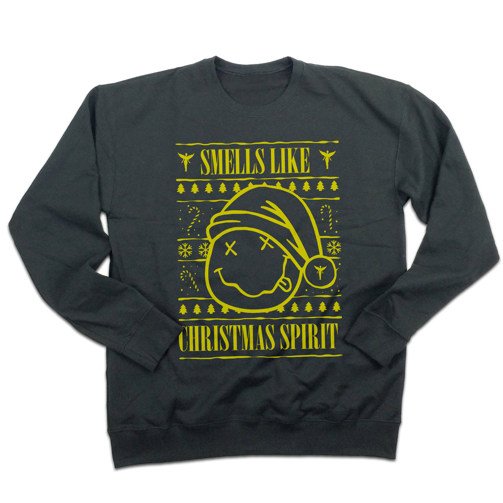 Smells Like Christmas Spirit Ugly Sweatshirt