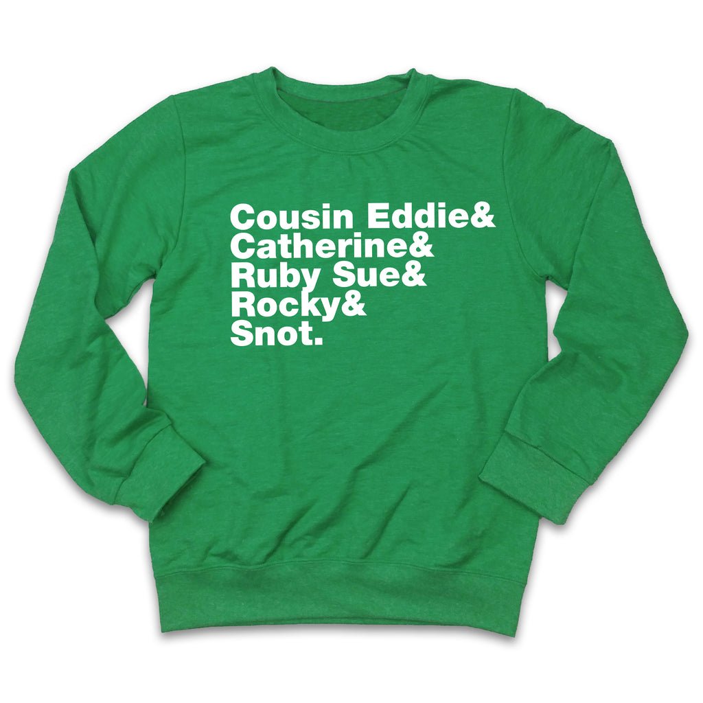 Cousin Eddie & Ugly Christmas Sweatshirt
