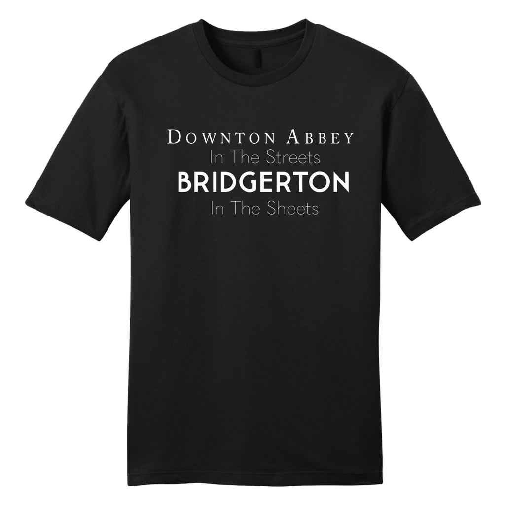 Downton Abbey in the Streets of Bridgerton
