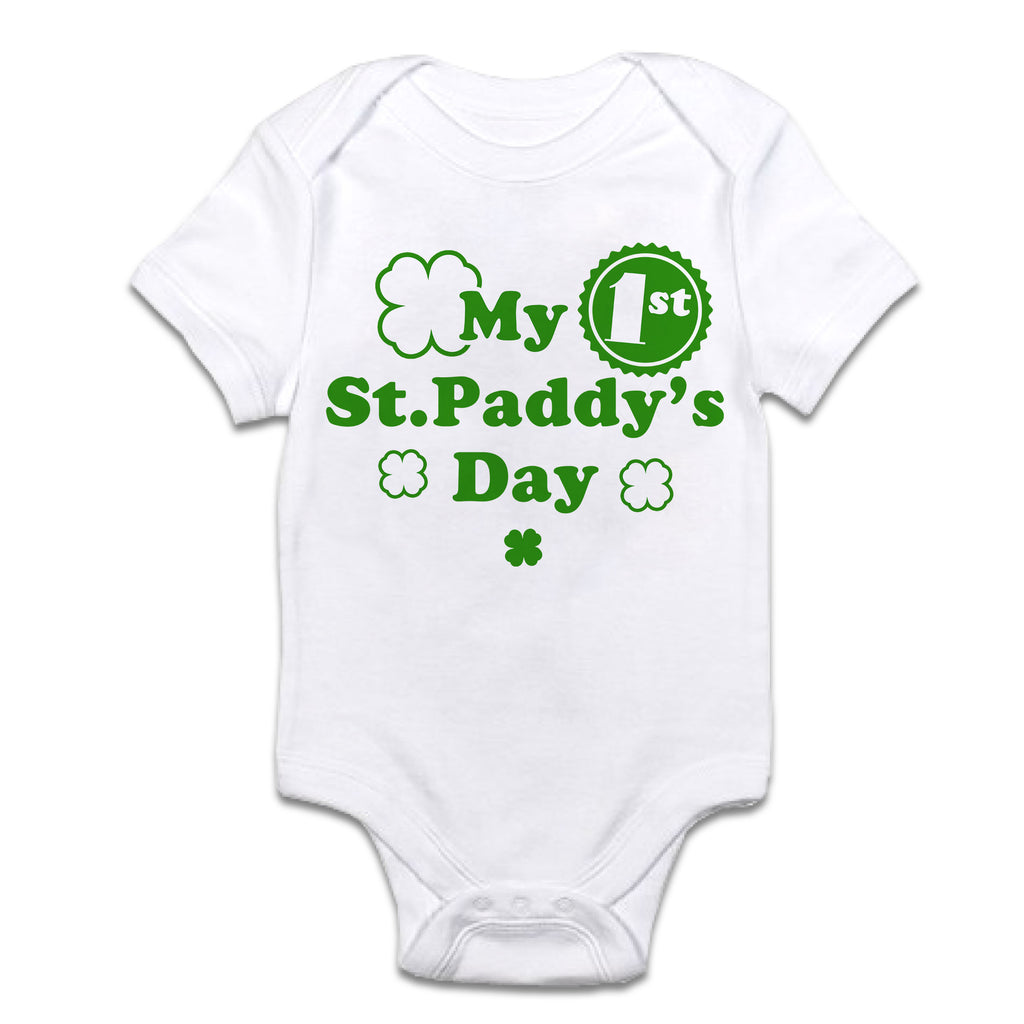 My 1st St. Paddy's Day Infant Onesie