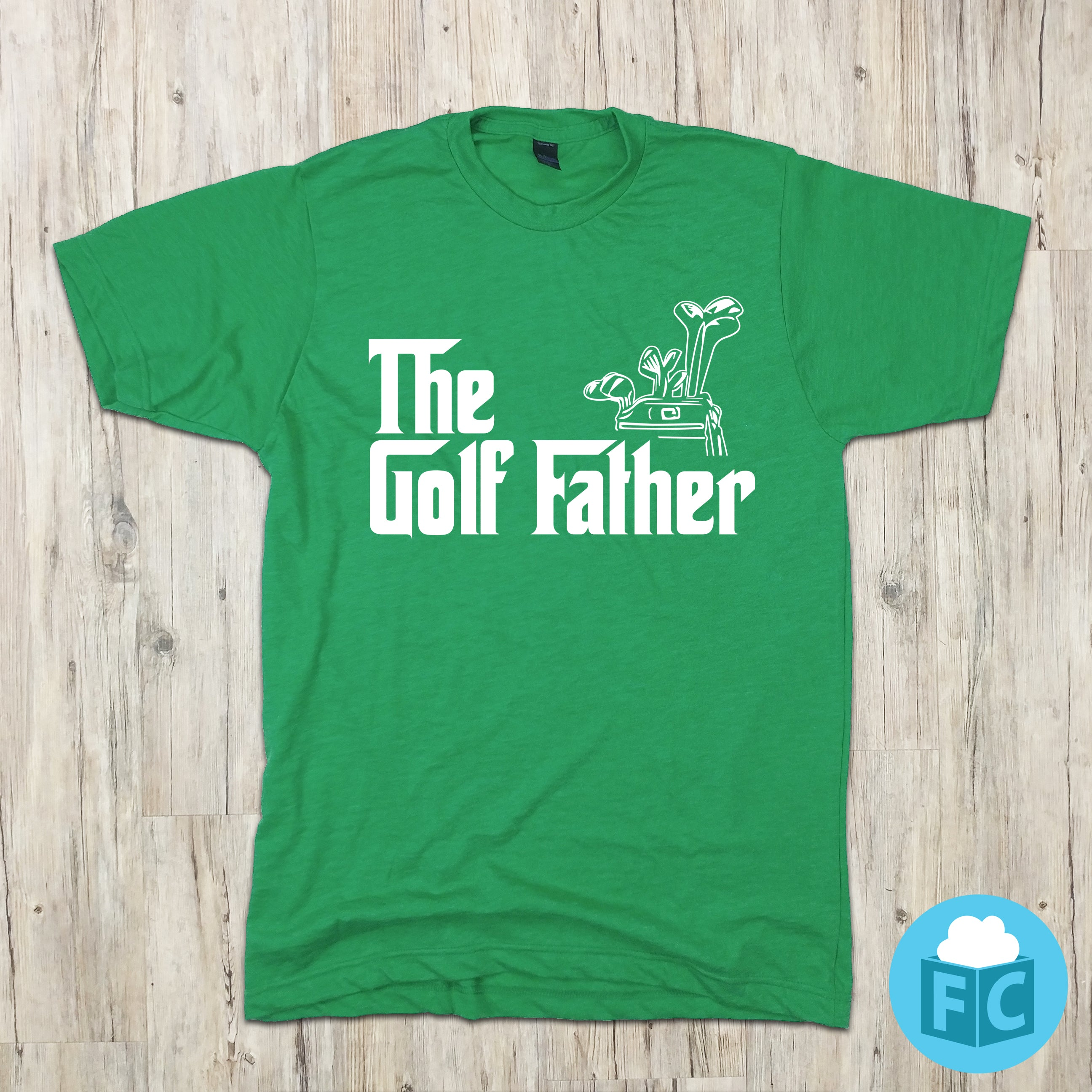 e3926188 The Golf Father | Movie Parody | Funny Sports Apparel | Fluffy Crate ...