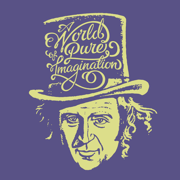 Willy Wonka Pure Imagination Movie Apparel Fluffy