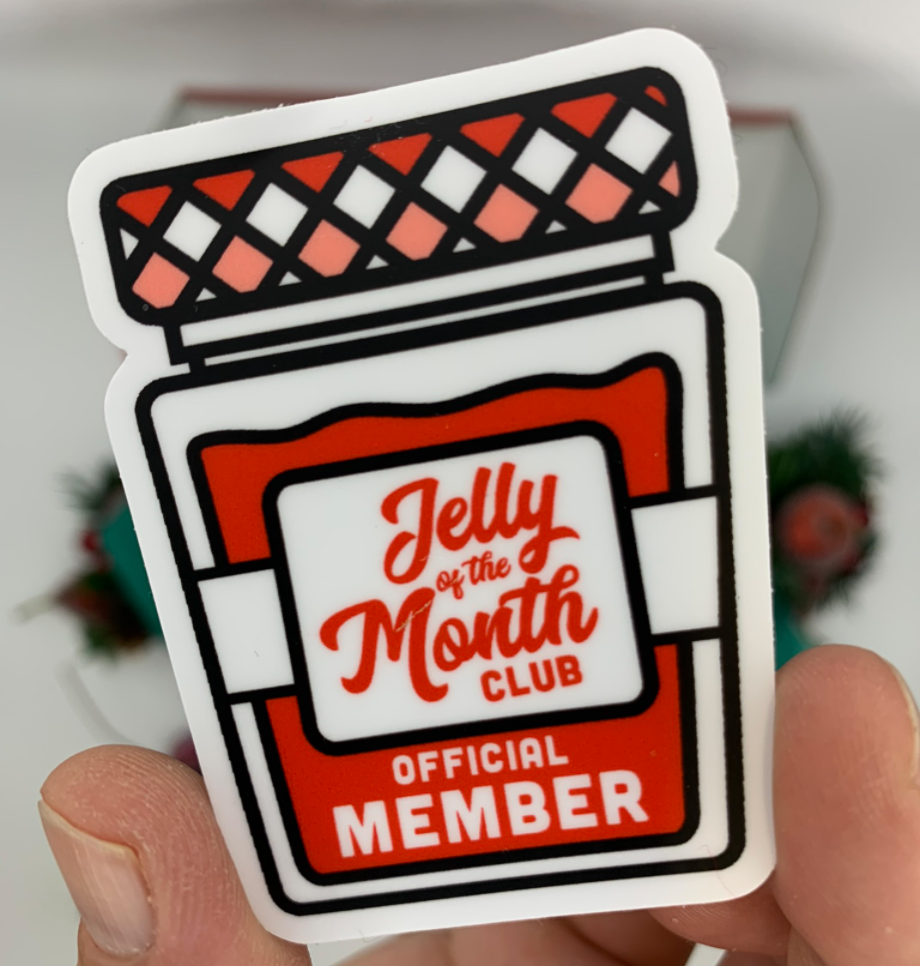 Jelly of the Month Club | Jellies and T-Shirt