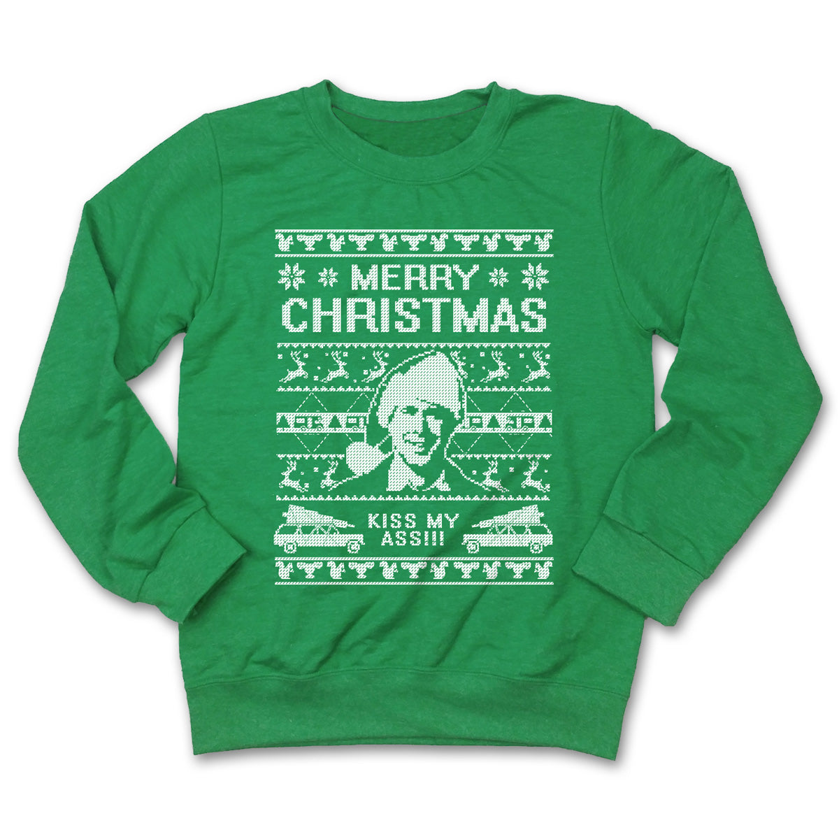 Merry Christmas, Kiss My Ass | Holiday Apparel | Fluffy Crate ...