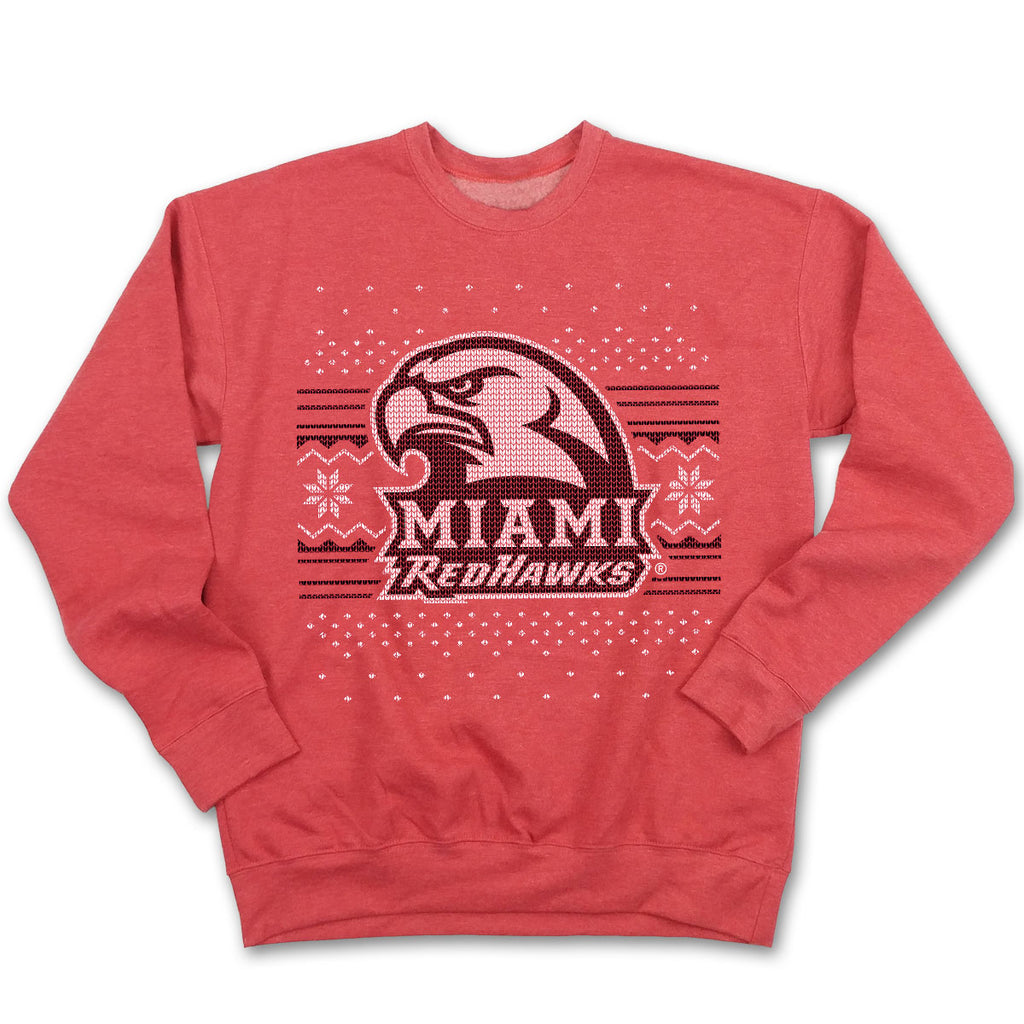 Miami University Ugly Christmas Sweatshirt