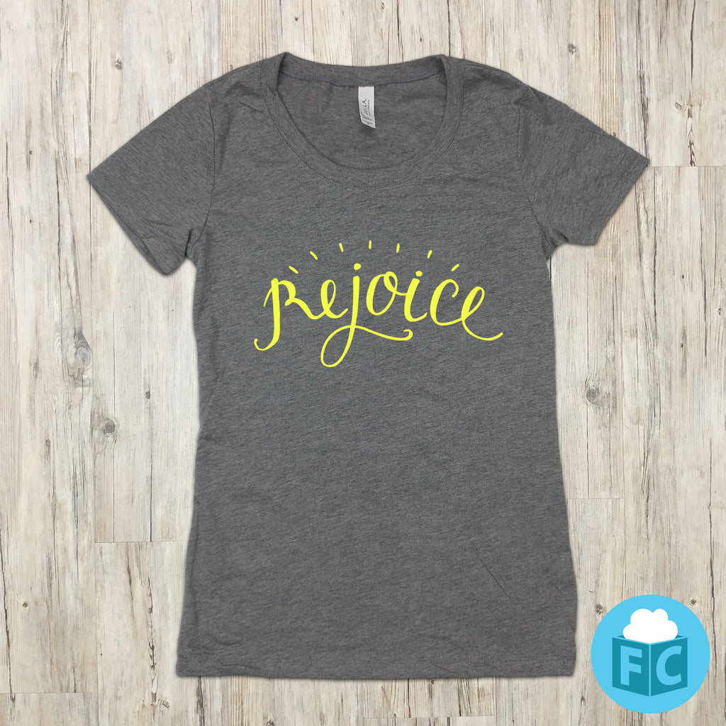 Rejoice - Women's Scoop Neck