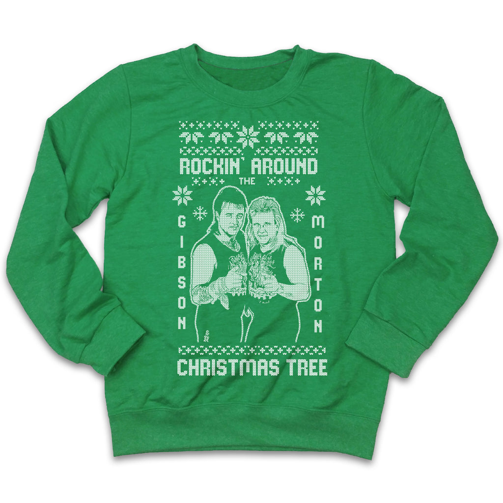 Rock and Roll Express Ugly Christmas Sweatshirt