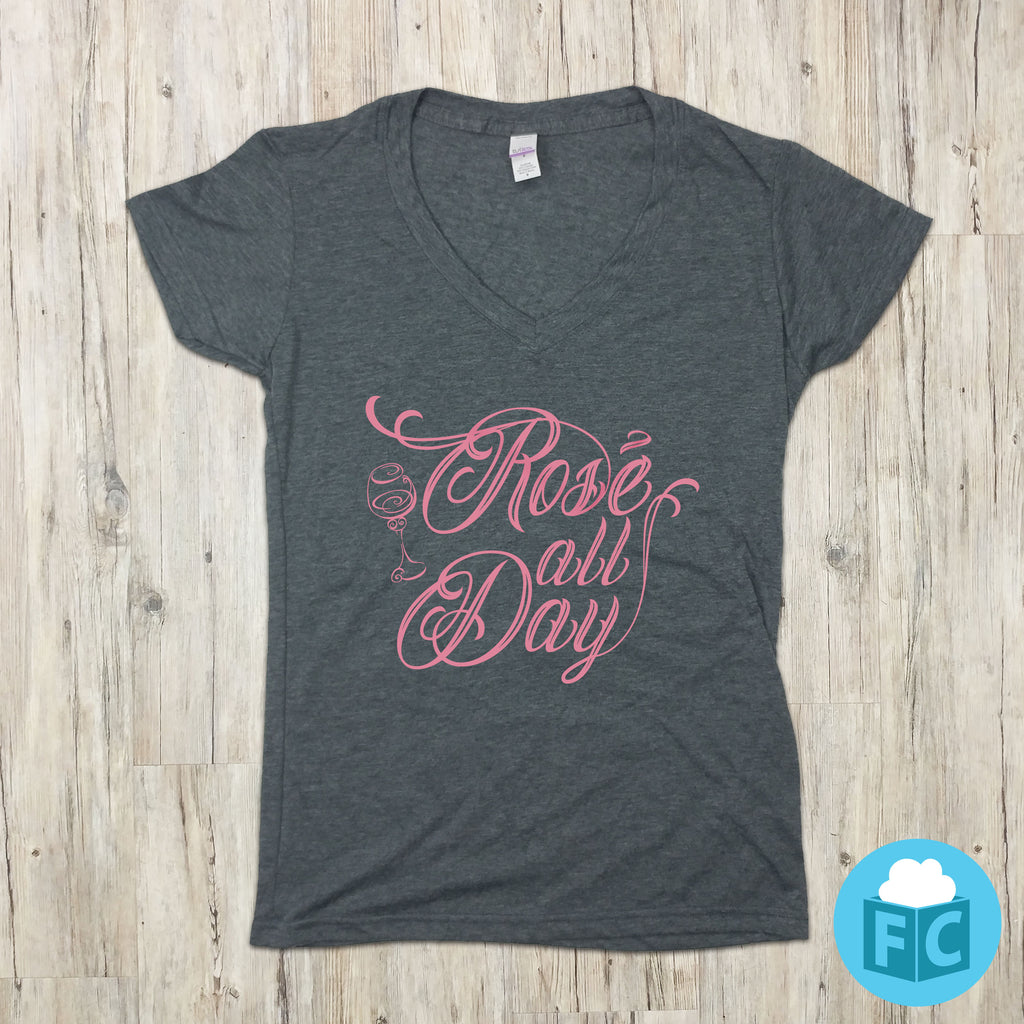 Rose' All Day - Women's V-Neck