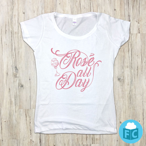 Rose' All Day - Women's Scoop Neck
