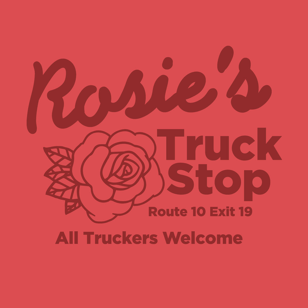 Rosie's Truck Stop - Women's Scoop Neck