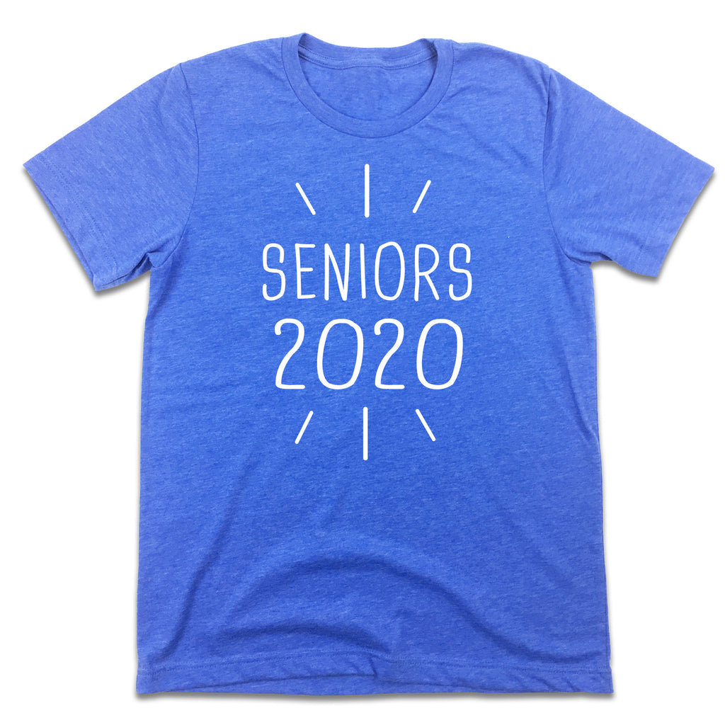 Seniors 2020 T-shirt Blue