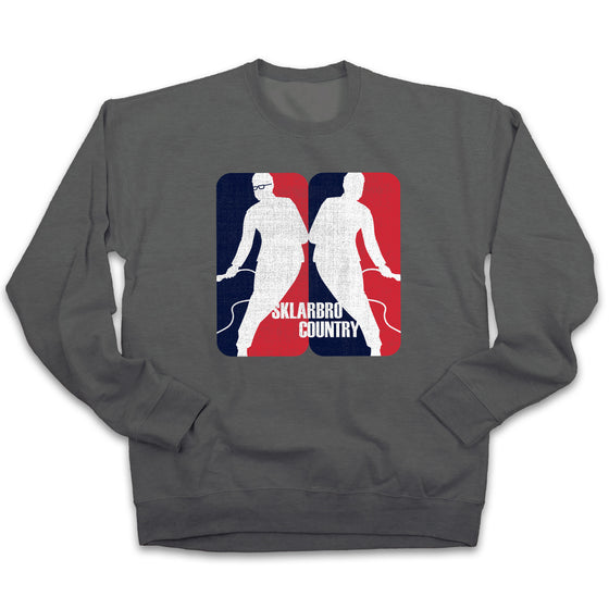 Sklarbro Country Logo - Heather Grey Sweatshirt & Hoodie Options