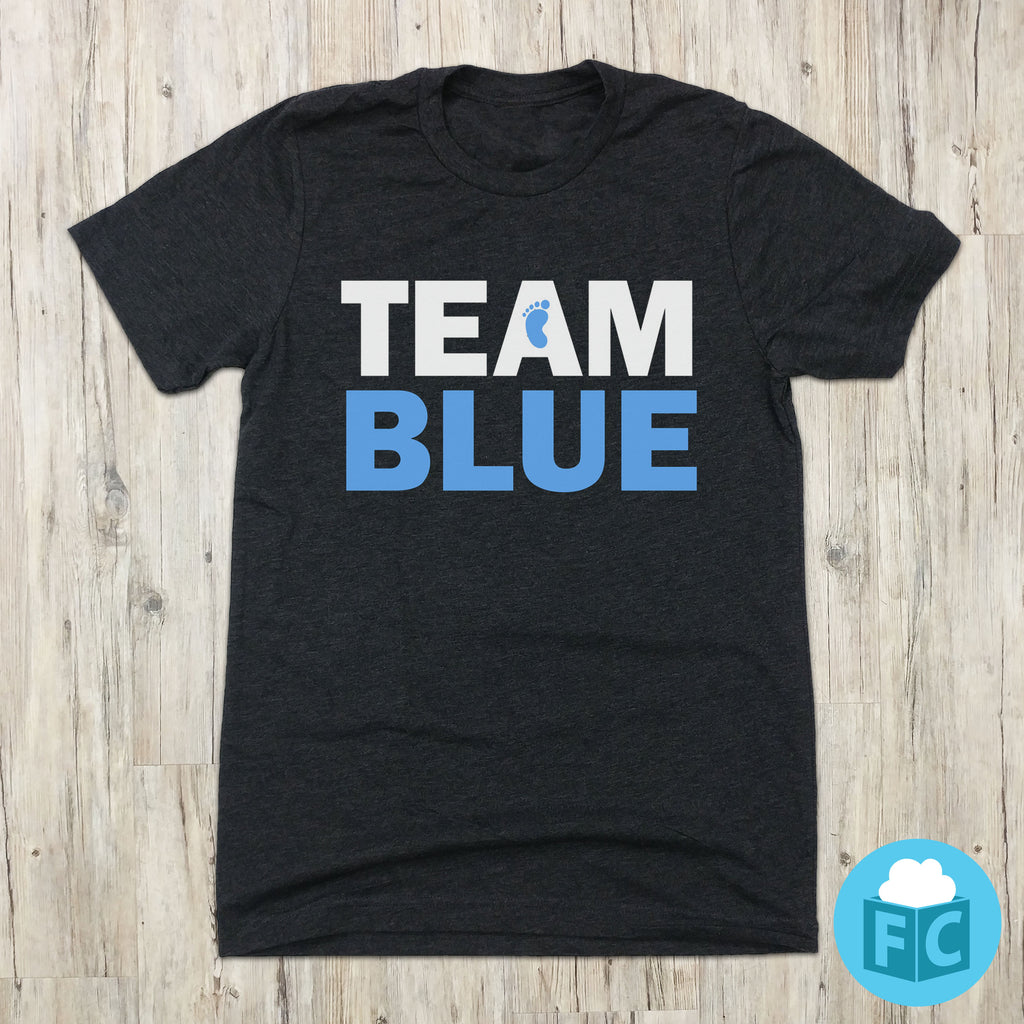 Team Blue - Gender Reveal Tee