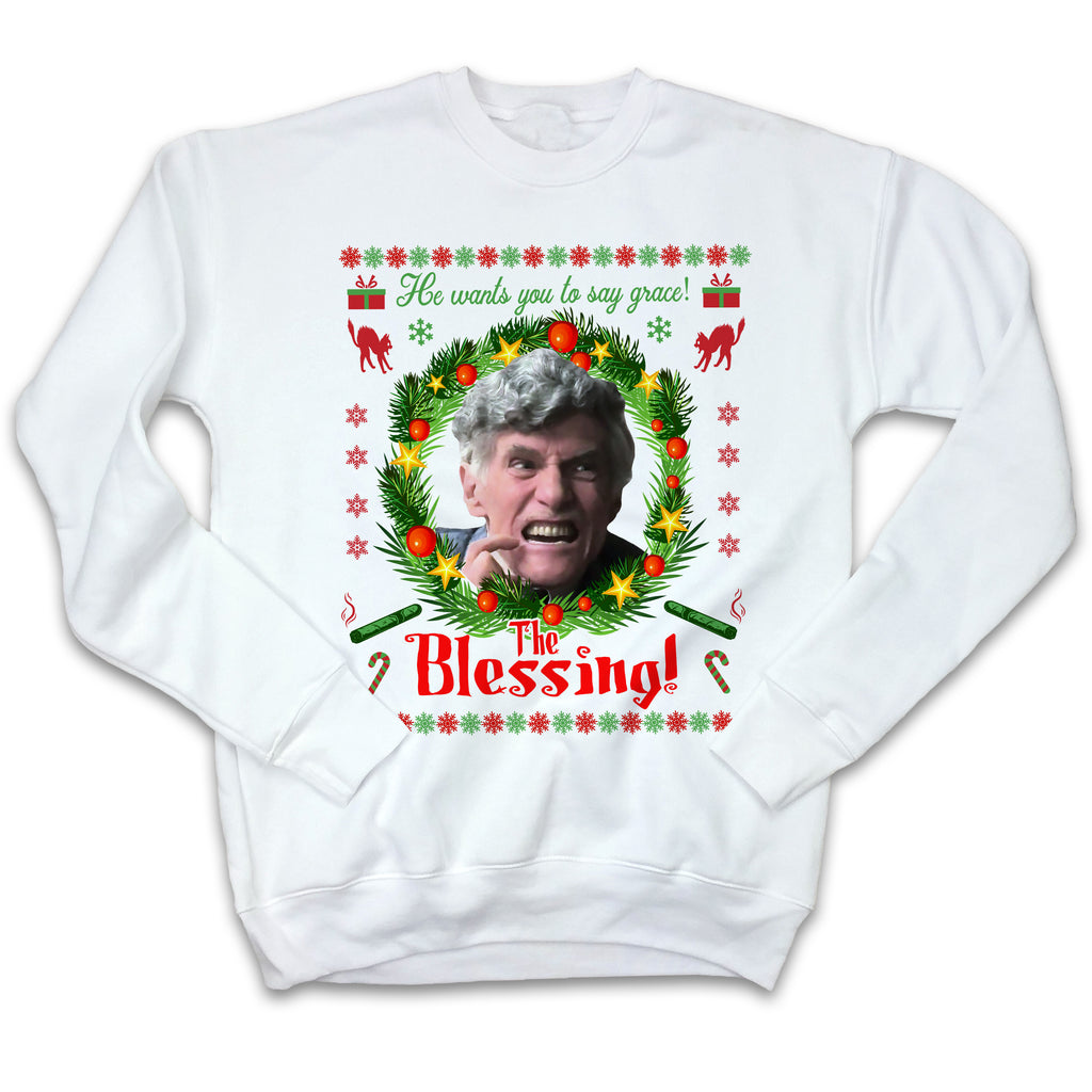 The Blessing! Ugly Christmas Sweatshirt