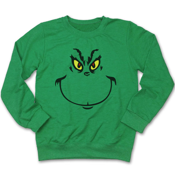 The Grouch Who Stole Christmas Ugly Christmas Sweatshirt