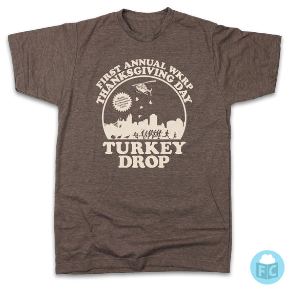 The ORIGINAL WKRP Turkey Drop T-shirt