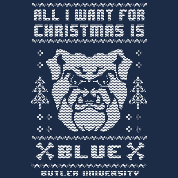 Butler Bulldogs Christmas Sweatshirt
