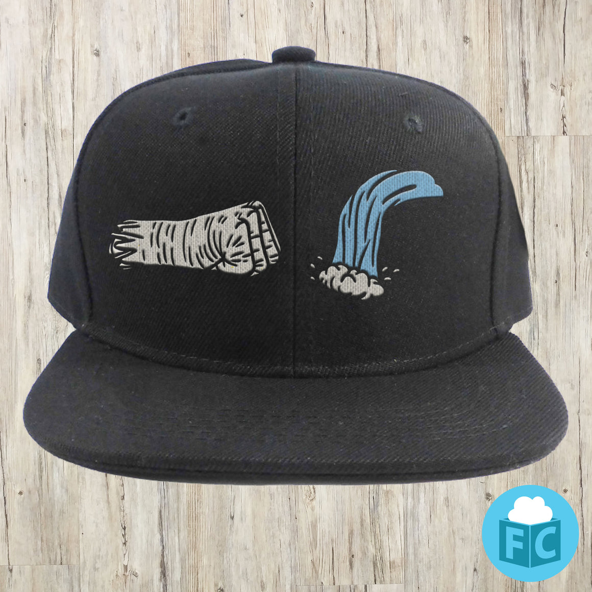 Punch Waterfalls Snapback Hat