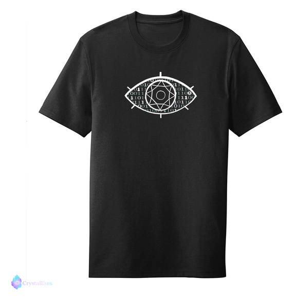 Crystal Eyes White - Large Logo Grey