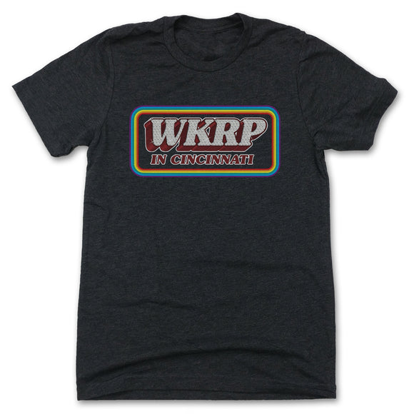 WKRP in Cincinnati Logo T-shirt High Quality