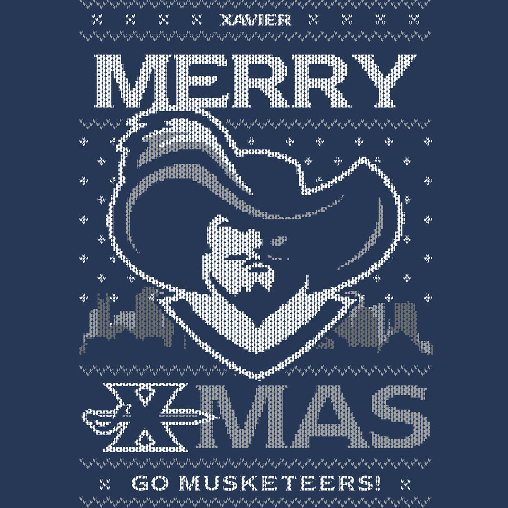 We Wish You a Merry Xmas - Xavier Ugly Christmas Sweatshirt