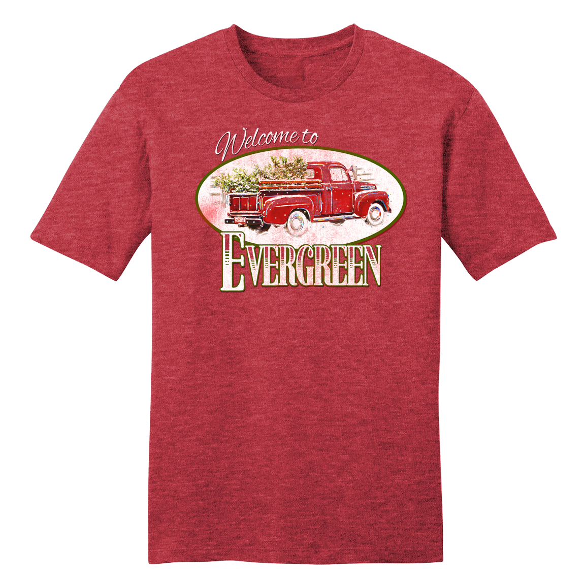 Welcome to Evergreen Truck T-shirt