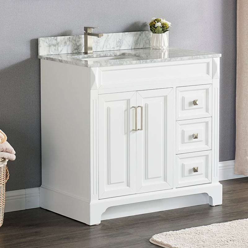 "1902  36"" Bathroom Vanity Cabinet Set"