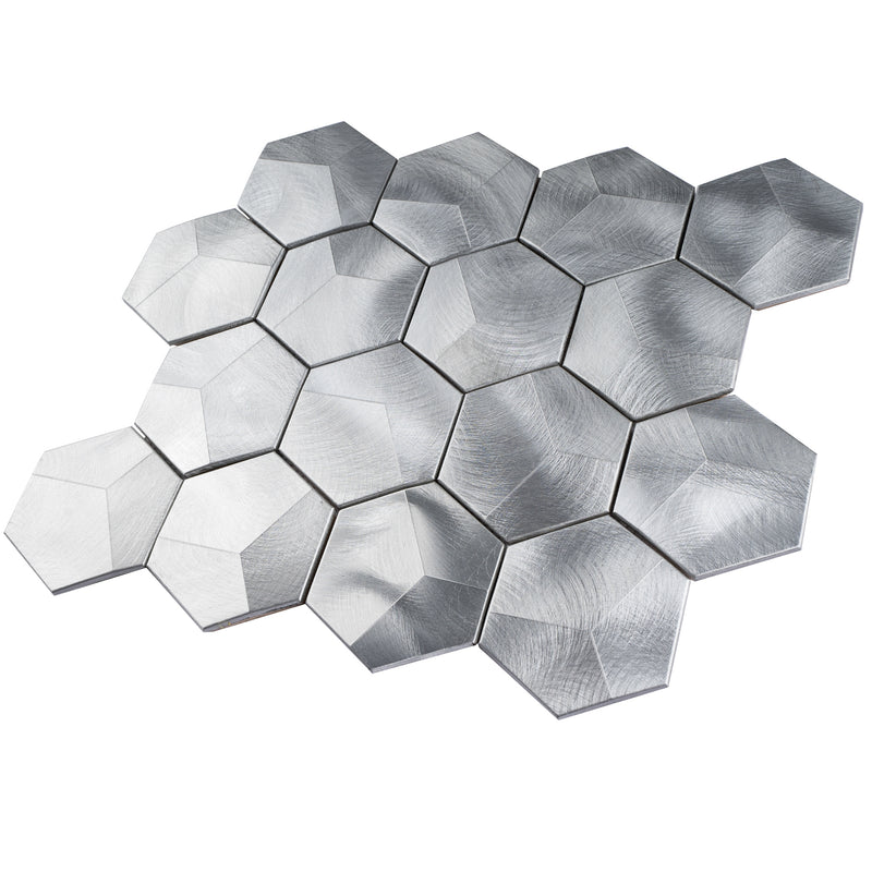 AFD-05  Slender Lady Hexagon Mosaic Tile