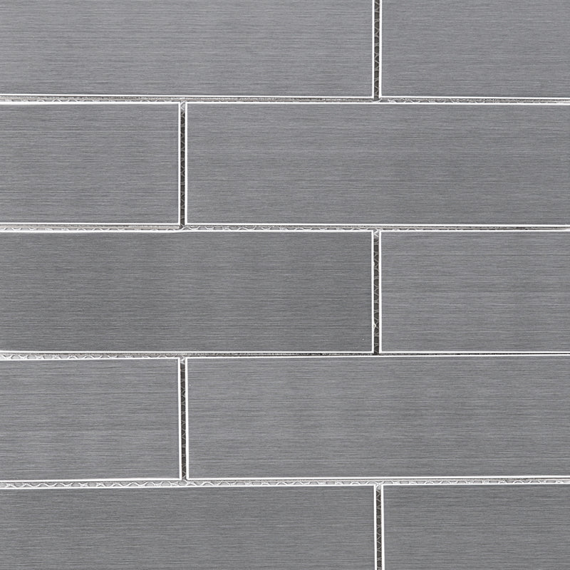 SSL-02  Stainless Steel Series - Flatbed Mosaic Tile