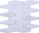 FN-01 Holy Trail - White Carrara with White Glass