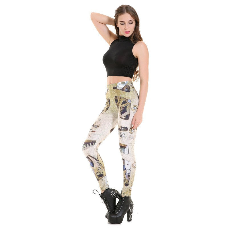 Machined Edge - Leggings - Legs11 Leggings