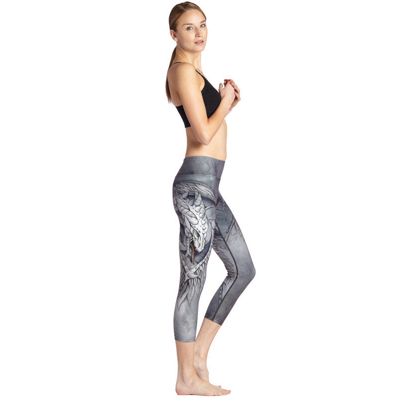 Dragons den - Capri Leggings - Legs11 Leggings