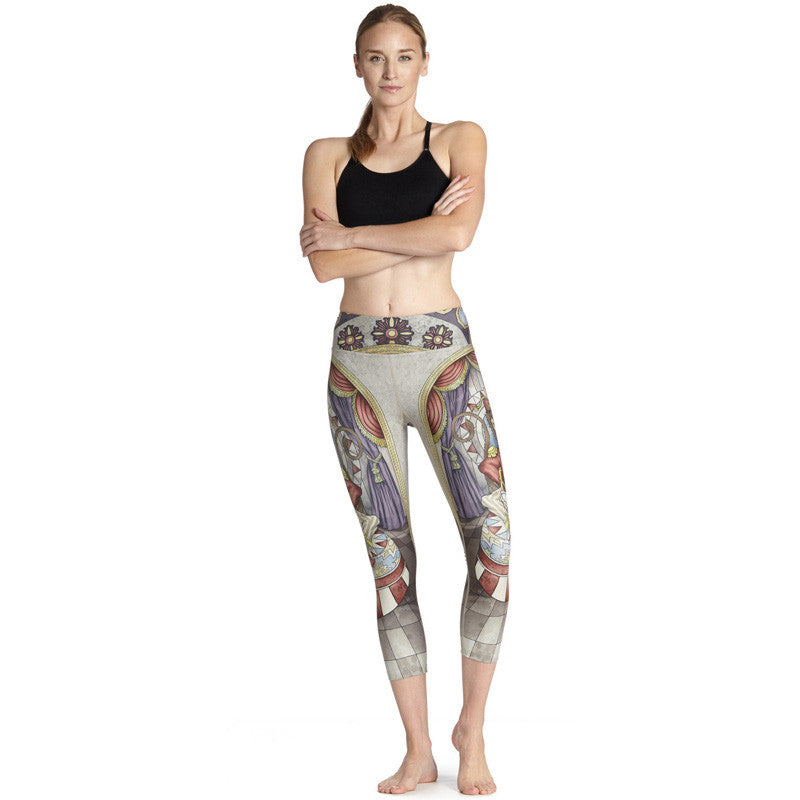 Ring leader - Capri Leggings - Legs11 Leggings
