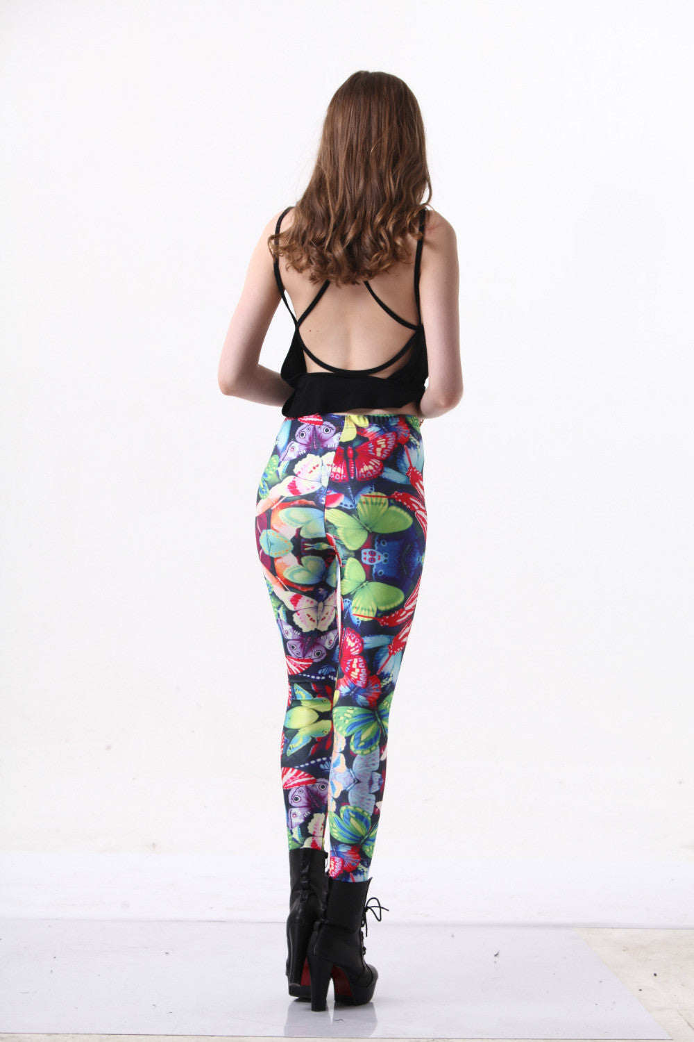 Floral Punk - Leggings - Legs11 Leggings
