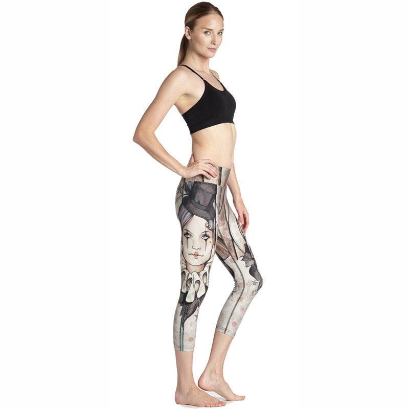 Send in the clowns - Capri Leggings - Legs11 Leggings