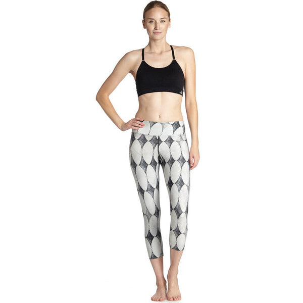 Diamonds for Days - Capri Leggings - Legs11 Leggings