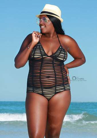 Strap me up 1 piece swimsuit