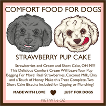 Strawberry Pup Cake
