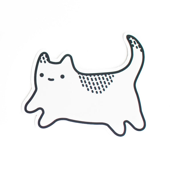 baby cat vinyl sticker