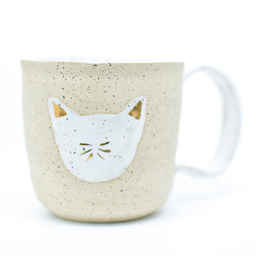 cat lover coffee cup