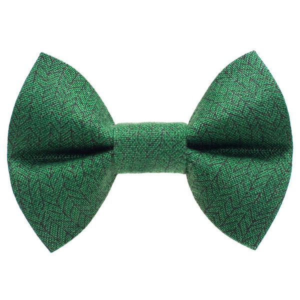 emerald green cat bow tie