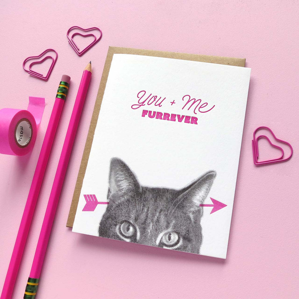 cat lover valentine's day card